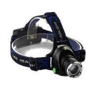 lampe frontale à focale zoomable t6 led achat en gros de-2000Lm Étanche CREE XML T6 LED Zoomable Phare Phare Tête Lampe Lumière Zoomable Ajuster Focus Pour Vélo Camping Randonnée