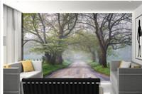 papel de parede país livre venda por atacado-Personalizar papel de parede papel de parede Natural cênica country road fotografia TV pano de fundo 3d papel de parede Frete grátis4524!