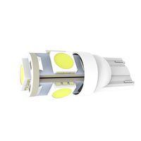 ingrosso luce gialla bianca principale-Prezzo di fabbrica 10x Super Luminosità Colorata SMD5050 Fanale posteriore a LED T10 W5W 501 DC12V Car Interior Lampada a 360 gradi Side Wedge Clearance Bulb