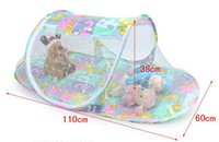 Wholesale Baby Playpen Beds - Baby Mosquito Net Fold Safty Mosquito Net Boat Style Playpen Shade Travel Tent Bed