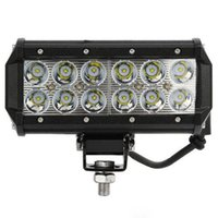 Arbeitsscheinwerfer 4wd 4x4 12st LED 36W Arbeits-Licht-Bar Jeep Boot SUV UTE Off-Road-Punkt-Flut-Lichtstrahl-12V / 24V DHL frei