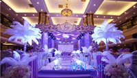 Wholesale Mask Plume - 2017 Wholesale 15-65cm 6-26 inch Home Decor White Ostrich feather plumes and ostrich feathers for wedding decor mask