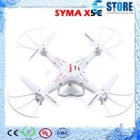 Wholesale Syma X5C X5C Quadcopter w Camera Drones w G Axis GYRO HD Camera RTF RC Helicopter Drop Shipping wu