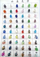 Wholesale Hole Stamping - DIY Jewelry 925 ALE Stamped Thread Core Beads 20 Colors Optional Lampwork Glass Beads Big Hole Murano Glass Charm Bead For Pandora Bracelets