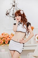 Wholesale Cheongsam Sexy Underwear - w1028 New COSPLAY Chinese Split cheongsam dress Free shipping Sexy lingerie women costumes Sex Products toy Sexy underwear Role play