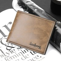Wholesale Leather Wholesale Prices - 2016 Fashion New Quality Wholesale Price Leather Men's Wallet Short Portable 4 Colors Card Holder Purse Wallet Free Shipping