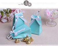 Wholesale Bird Wrap - 2016 wedding Love birds and diamond ring candy box ,Wedding Boxes Gift box folding European Style Candy box