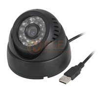 Wholesale Dome Tf - NEW Video Camera IR Cut for CCTV DVR Recorder CCTV Dome Camera Security USB Plug and Play Motion Detection Support 32GB TF Card