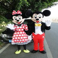 Wholesale Newest top sale minnie mouse mascot costume professional cartoon costumes inflatable mascot costume