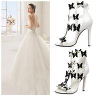 Wholesale Dance Shoes Sandals - 2016 Sweet Flower Hollow Out Summer Sandals Ballroom Dance Shoes Women High Heel Size 35 to 40