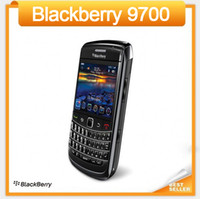 бесплатный gps blackberry оптовых-2016 Продвижение Оригинал Разблокирована Blackberry 9700 Bold 9700 3G Мобильный телефон GPS WIFI Bluetooth отремонтированный телефон бесплатная доставка