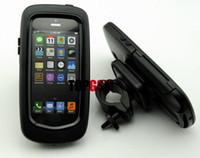 étuis iphone 5s outdoor achat en gros de-iPhone 5 iPhone 5S Étui En Plein Air avec Vélo Mont Moto Mont Titulaire + Étanche Dur Étui Dur Dur pour iPhone 5 5S Livraison Gratuite
