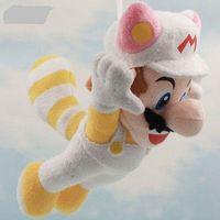 Wholesale Mario Bros Tanooki - Wholesale-Super Mario Bros 8' Flying Raccoon Tanooki Rabbit Mario Fox Kitsune Luigi Plush