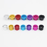Wholesale Ego Battery Parts - Colorful Adapter Ring Beauty Ego Ring Vivi Rings Electronic Cigarette E-Cigarette Accessories Parts To Ego Battery Ecig Atomizer