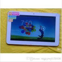 DHL freeshiping Quad core Sanei N903 9 pouces capacitif Android 4.4 Allwinner A23 Tablet PC double caméra
