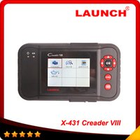 Wholesale Launch Creader Obdii - 2016 Original Launch Creader 8 creader viii same as CRP129 CRP 129 OBDII code reader update on official site creaderviii In stock