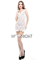 Wholesale Hot Pron - 151204 White Lace Satin Women Sexy Lingerie Hot pron nightie negligee Sleepwear Nightwear, sexy costumes, sexy robe, nightgown