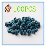Wholesale Color Grommets - 100PCS Soft blue color H Type Tattoo Grommet For Needle Machine Supply 2100406-5