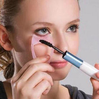 3 IN 1 Trucco cosmetico Beaty Long Fake Mascara Guida per l'applicatore di pettini Ciglia per pettine Cuciture truccatrici Accessori cosmetici Applicatori Facile uso