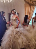 Wholesale Sweatheart Tulle Wedding Dress - Hot Sale Mermaid Wedding Dress 2016 sweatheart luxurious wedding gowns vestido de noiva Sequined made in China
