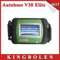 Wholesale Super Elite - 2015 New Arrival 100% Genuine SPX Autoboss Elite Super Scanner Support Multi-brand Vehicles Autoboss V30 Elite Free Shipping