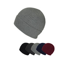 Wholesale men s formal hats - New high quality knitted hat warm hat ear protection Windproof Simple and elegant women men 's neutral S001