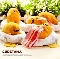 Wholesale Egg Cute - Casual Fashion High Quality phone card bag GUDETAMA EGG Plush Mini Coin wallets Cute GUDETAMA change case Free shipping