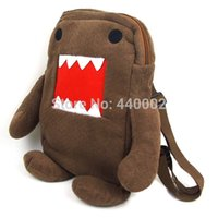 Atacado-Soft Domo Kun Plush Bag 15
