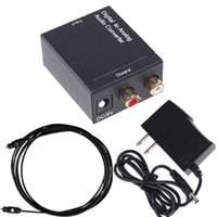 Wholesale hdmi optical audio for sale - Digital to Analog L R SPDIF Coaxial Coax RCA Optical Toslink Audio Converter