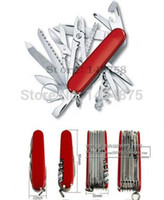 ingrosso coltelli da tasca grandi-Grande marca campeggio escursionismo 91 millimetri in acciaio inox multifunzionale strumenti pieghevole coltelli militari Sopravvivenza sport all'aperto coltello tascabile