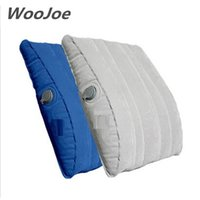 Wholesale lumbar support cushion pillow - Wholesale- 2017 professional quality brand multifunction waist support pillow inflatable seat cushion travesseiro almohada lumbar pillows