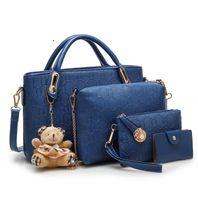 Purses Ladies Handbags For Women PU Leather Handbags BUY 1 GET 5 FREE Mulit  6 Colors Bags Hot Sale
