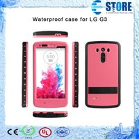 Wholesale Iphone Pepper Case - Redpepper Cover Red pepper Waterproof Shockproof Dirtproof Case Hard PC Plastic Cover Case For LG G3 with Retail Package,DHL free,wu
