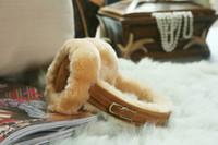 Wholesale Sheepskin Earmuffs - Wholesale-amazing 100% Australia sheepskin earmuffs warm in winter