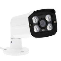 Wholesale Ip Camera Outdoor Eu - US EU Plug MY-310 Waterproof Webcam 4 Array LED 1080P 2.0MP IP Cloud Camera IR-CUT Outdoor Indoor Support Phone Control