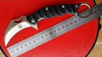 Wholesale Good Quality Fixed Blade Knives - New folding claw karambit knife,good quality hunting survival knives,microtech knives,AKC knives,balisong knives