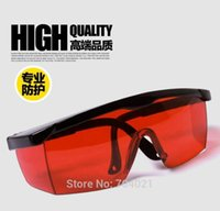 Wholesale Glass Safety Red Laser - Red Safety Glasses 190nm-540nm Green Blue Violet Laser Ray Eye Laser Pointer Protection Goggles