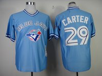 Wholesale Hot Ladys - Factory Outlet Personalize Adults Ladys Youth Toronto Blue Jays 29 Joe Carter Embroidery Logo Flex Base Cool Base Hot Sale Baseball Jerseys