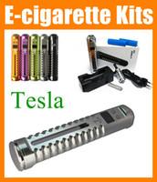 Wholesale Vamo Variable - Tesla mech mod kit Variable voltage x3 Mod vv vw power tesla M2 M5 mods fit 18650 Battery ecig e cigarette X6 vamo v3 vaporizer pen TZ017