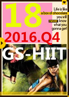 su Top-sale 2016.10 Ottobre Q4 Nuova routine GS 18 ST HIIT 30 minuti GS18 ST18 DVD + CD Esercizio Fitness Video