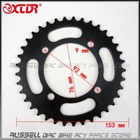 Wholesale Bike Parts Sprocket - Universal Rear chain Wheel sprocket Gear 420 428 37T Tooth For Dirt Pit Bike off road accessories Parts 50cc-125cc