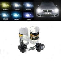 Wholesale D2r Xenon Hid Bulbs - High Quality 2x D2R 35W Car Auto for HID Xenon Replacement Headlight Lamp Bulb Light Source 4300K 5000K 6000K 8000K 12000K