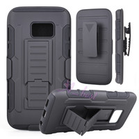 Wholesale Future Covers - For Galaxy S7 Future Armor case Impact Hybrid Hard Phone Case Cover + Belt Clip Holster Kickstand Combo For Samsung Galaxy S7 Edge