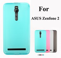 Wholesale Tpu Gel Asus - New Matte Pudding Soft TPU Gel Skin Cover Case For Asus Zenfone C 2 5.0 5.5 Zenfone2