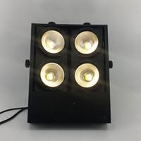 Wholesale matrix sounds - 4pcs lotTheater Lighting COB LED Flood Light 4eye 100w Led Matrix Blinder Light Led Wash Audience Lights
