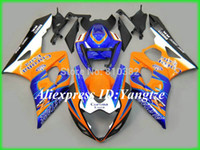 motosiklet korona kiti toptan satış-ÜST Motosiklet kaporta kiti sarı GS için Suzuki GSX-R1000 05 06 GSX-R GSXR 1000 K5 2005 2006 Corona trim