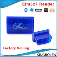 Wholesale hyundai car models for sale - Vircar Newest mini elm327 Bluetooth OBD II car diagnostic elm Bluetooth model interface