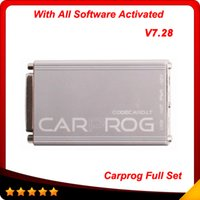 Wholesale Audi Usb Adaptor - 2016 Famed NO.1 carprog top New V7.28 with 21 adaptors and all software's activated Top selling free shipping In stock