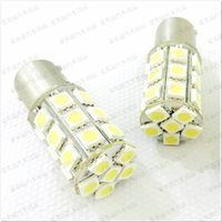 Wholesale 1157 Smd Led White - Promotion & High Quality 50pcs 1156 1157 Trun Signal Led Bulb 27SMD 5050 27 Led Brake Lamp Tail Light 12V   24V 27 SMD