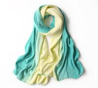 Wholesale ms cashmere - 2018 women stripe Scarves Imitation cashmere scarf Ms gradient Scarf fashion Shawl Free Shipping 61